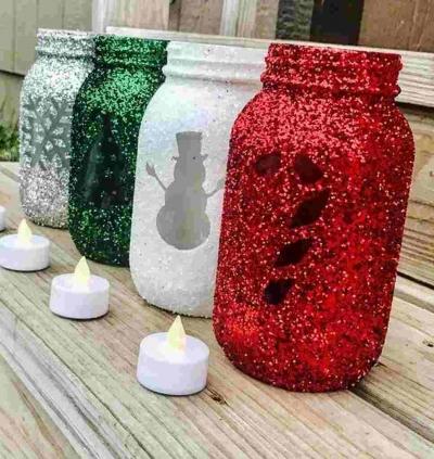 Faça você mesmo esta lindas decorações de Natal