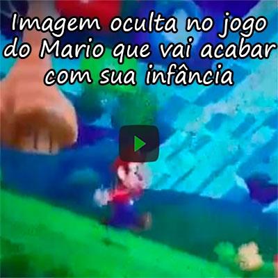 Imagem oculta no jogo do Mario que vai acabar com sua infância