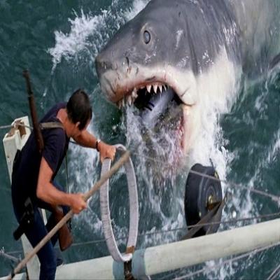 Tubarão -  iniciador da era dos filmes arrasa-quarteirão (blockbuster).