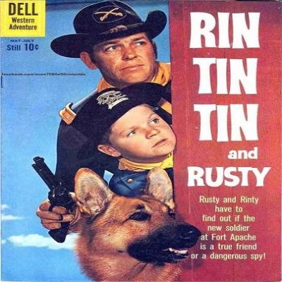 As aventuras de Rin Tin Tin - a primeira emissora a exibir foi a TV Record.