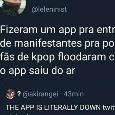 Nunca critiquei a fandom de kpop