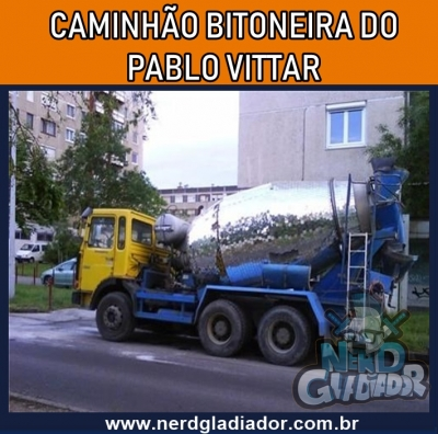 Caminhão bitoneira do Pablo Vittar