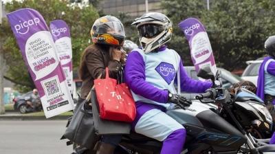 Picap o aplicativo com motos particulares