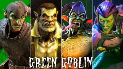 A evolução do Duende Verde nos jogos
