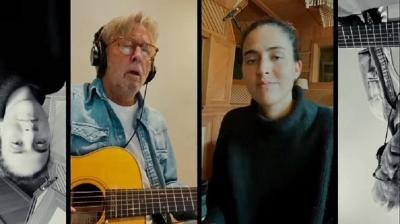 Eric Clapton se junta a cantora portuguesa para nova versão de Tears in Heaven
